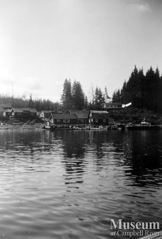 Coal Creek Logging Ltd. camp, Granite Bay