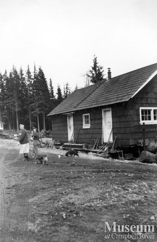 Coal Creek Logging camp at Granite Bay