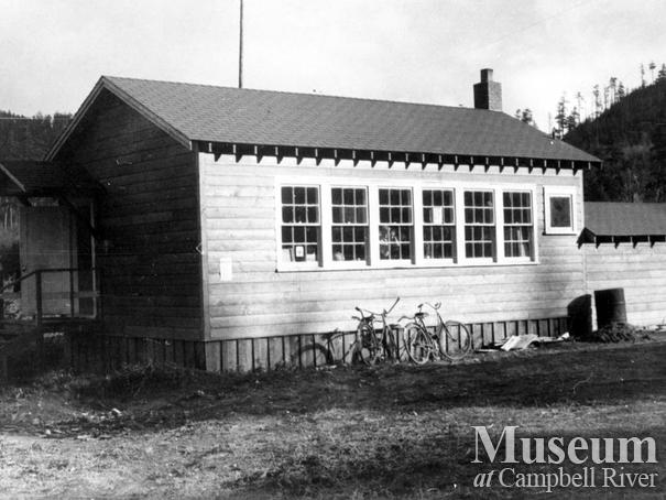 Granite Bay school on Quadra Island