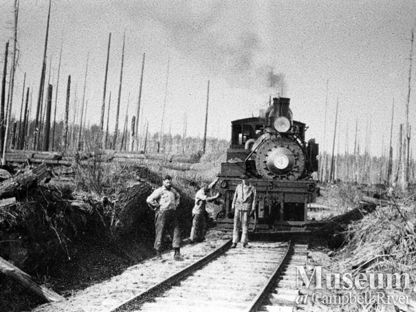 International Timber Co. locomotive, Campbell River area