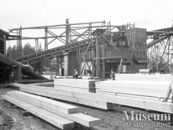 Beecher Lake Lumber sawmill operations