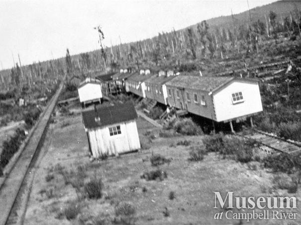 Bunkhouses at Elk River Timber Camp 6