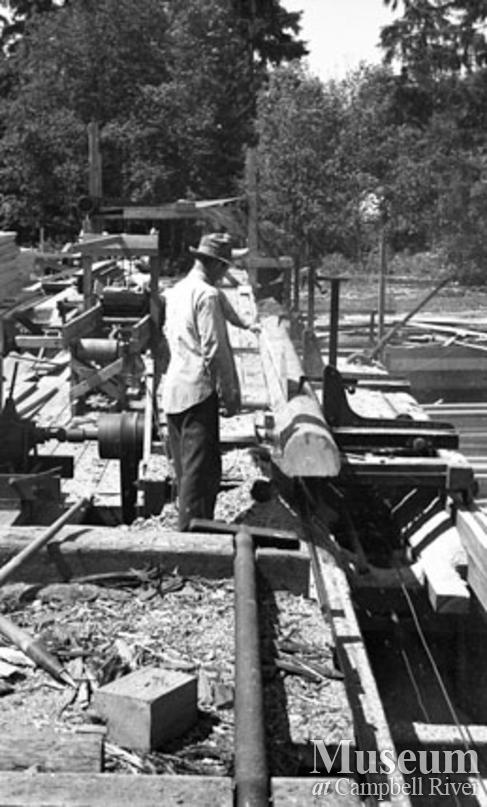 Beecher Lake Lumber Co. sawmill
