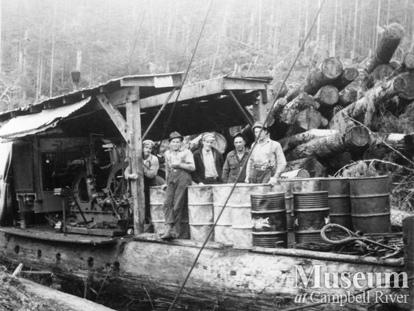 Pioneer Timber Co. operations at Port McNeill