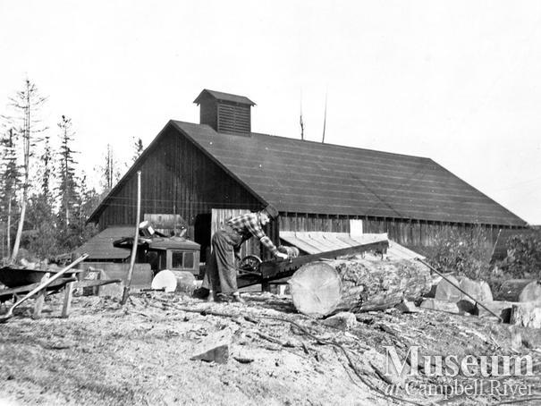 Elk River Timber Co. Camp 8 at Echo Lake