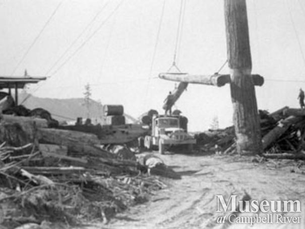 Powell River Logging Co. at Kelsey Bay