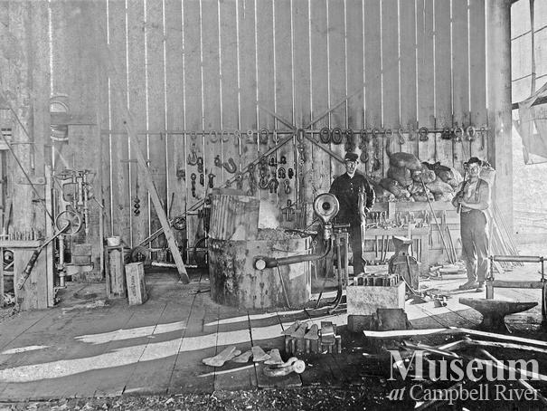 International Timber Co. Camp 2 blacksmith shop