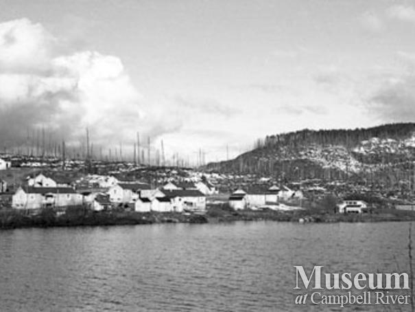 MacMillan Bloedel Camp 5 at Menzie's Bay