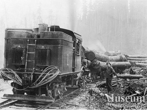 International Timber Co. camp near Campbell River