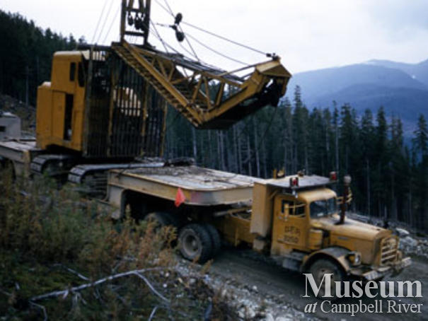 Canadian Forest Products operations near Woss