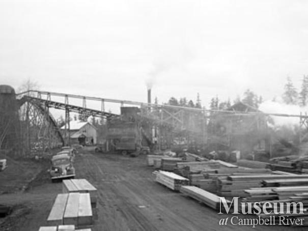 Beecher Lake Lumber sawmill operations