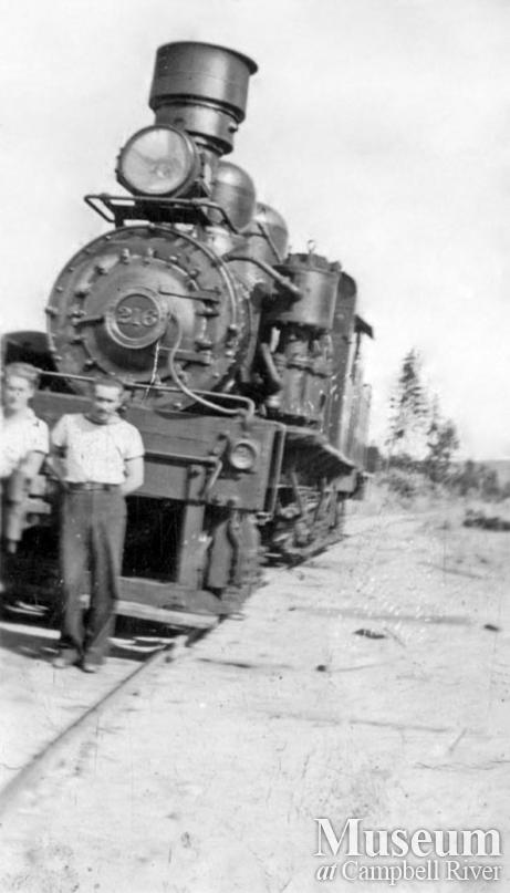 Campbell River Timber Co. locomotive