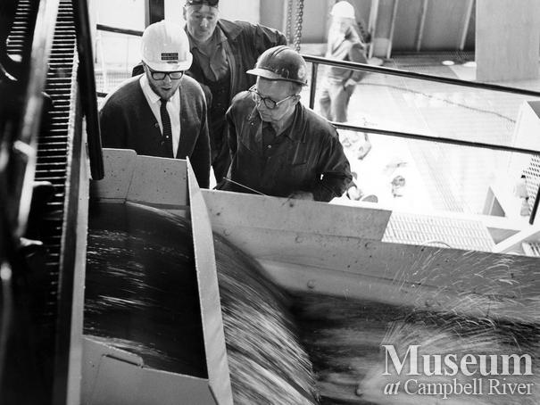 Elk Falls Mill operations, Campbell River