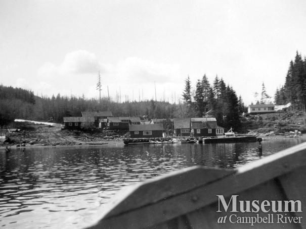 Coal Creek Logging Ltd. camp, Granite Bay