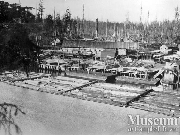 Campbell River's first sawmill